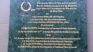 Abt Christian Meyer Zu Besuch Im Tochterkloster Mont Febe/Kamerun